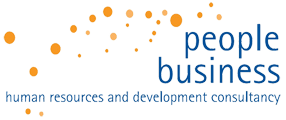 People Business Mobile Logo